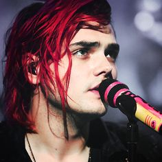 Gerard Way- I love him. Lord, I miss MCR. They got me through my 20's and a rough patch in my personal life.