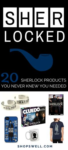 Fun, quirky, must-have items for the Sherlock fan.