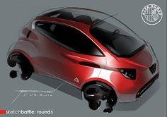 Alfa sketch battle round 6 | Car Design Education Tips