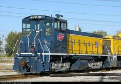 Eastbound waiting for a crew: ALS 1516 Alton & Southern Railway EMD SW1500 at Sauget, Illinois by Keith Belk