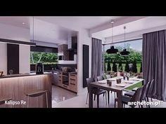 Projekt domu KALIPSO RE, 250,2 m2, wirtualny spacer - archeton.pl