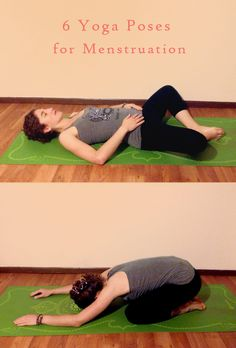 Best Yoga Poses for Menstruation- Peaceful Dumpling