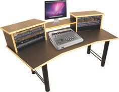Home Studio Desk Design. Beautiful Home Recording Studio Design With on home keyboard studio desk plans, home recording studio desk, small office desk design, diy desk design, art desk design, school desk design, home studio desk ideas, home desk drawings, recording studio design,