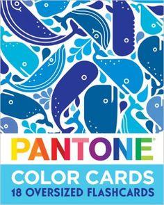 Amazon.com: Pantone: Color Cards: 18 Oversized Flash Cards (9781419706264): Pantone, Andrew Gibbs: Books