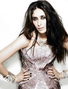 #Vogue #India love her hair ... kareena kapoor