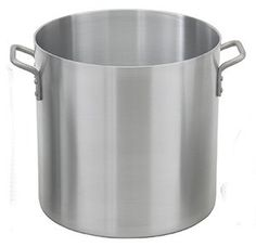 "Royal Industries ROY RSPT 12 M  12 Qt Aluminum Stock Pot by food service warehouse. $20.48. Diameter: 9.8"". Cookware Type: Stock Pot. Ship Weight: 3.62 lbs.. Cover Included: No. Capacity: 12 qts.. From steaming seafood or vegetables to making chicken stock  a stock pot is about as versatile an instrument as you will find in a commercial kitchen. Because of its wide diameter and high walls  nearly anything may be cooked inside a stock pot. Royal Industries has an e..."