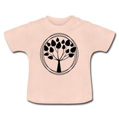 Geschenke Shop   Lebensbaum - Baby T-Shirt Baby T Shirts, Kind Mode, Babys, Sweatshirts, Sweaters, Fashion, Babies, Moda, Fashion Styles