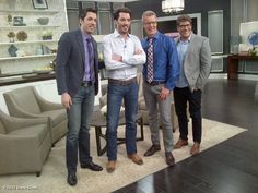 Drew Scott's photo: Fun time this morning - @MrSilverScott & I with @Steven & Chris . You guys are great!