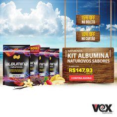 E a onda do #verãovex está cheia de kits legais pra você! Confira esse kit albumina Naturovos no nosso site:  http://www.vexsuplementos.com.br/kit-4-albuminas-naturovos-500g-naturovos #somosvex #vexsuplementos #veraovex #suplemento