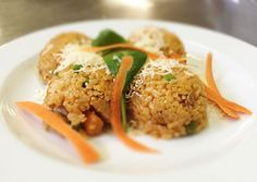 Denné menu Vranov | Bratislavské bravčové rizoto s posýpkou syra - reštaurácia Hotel Patriot*** #hotel #restaurant #food #lunch