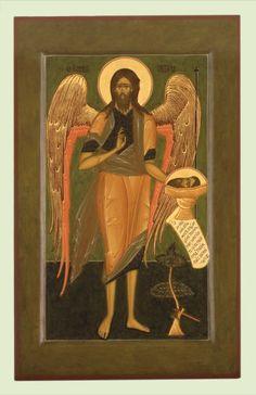 Christian World, Russian Orthodox, Byzantine Art, Orthodox Christianity, John The Baptist, Orthodox Icons, Ikon, Saints, Spirituality