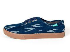 Vegan Shoes   Bags  Ladies Sneaker-Homer Arrow by Keep in Blue Best Sneakers ed35af960