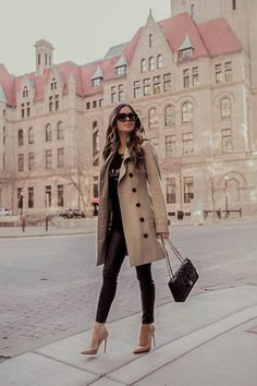 Casual Fall Outfits, Winter Fashion Outfits, Classy Outfits, Look Fashion, Stylish Outfits, Fashion Clothes, Autumn Fashion, Womens Fashion, Classic Outfits For Women