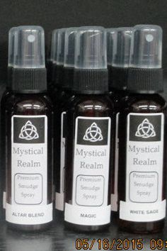 Smudge Spray - White Sage Smudge - Blessing Smudge - Cleansing Smudge - Witchcraft Supply - Altar Smudge - White Sage Spray ~ Witchcraft