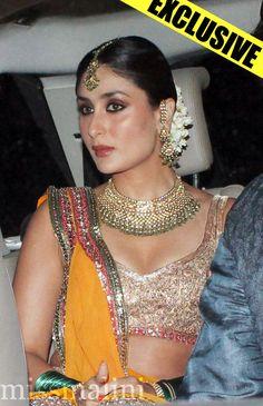 Kareena Kapoor at her #sangeet ceremony