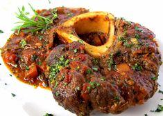 Nejedlé recepty: Ossobuco Grapefruit Salad, Pink Grapefruit, Marinated Chicken, Tandoori Chicken, Kuala Lampur, Modern Food, Pot Roast, Meatloaf, Vegetarian