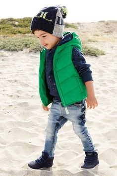 Buy Green Hooded Gilet (3mths-6yrs) from the Next UK online shop