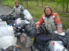 Ewan McGregor and Charley Boorman's long-awaited third motorcycle travel documentary, 'Long Way Up' is underway - on electric bikes! Motorcycle Camping, Camping Gear, Motorcycle Adventure, Long Way Round, Adventure Film, Adventure Travel, Ewan Mcgregor, Acting Career, His Travel