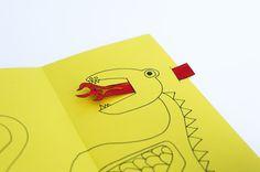 DIY Animated Fathers Day Dragon Card 4