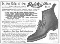 Ralston Health Shoe 1905 Ad Picture