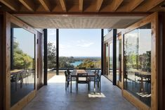 Outdoor Dining Space, Hilltop Home with Stunning Views in Ngunguru, New Zealand