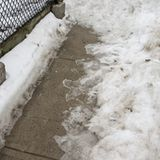 Treating Ice on Sidewalks and Driveways. This talks about the various ice melt products available and even mentions some natural alternatives.