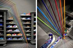 RunColors llega a Poznań con una Concept Store diseñada por mode:lina architekci