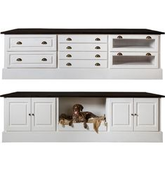 Can you tell we love our dogs? I mean, how could we not - they're the best.   Pictured is the Nina Island, designed to give your dogs a space in your house. Swedish Style, Island, Cabinet, Space, Storage, Dogs, Furniture, Design, Home Decor