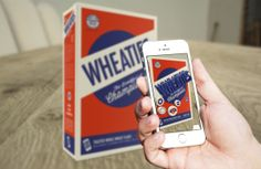Wheaties: Breakfast of Champions Reskin by Devin Hilgenkamp, via Behance