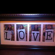 Gift for grandma, WE LOVE YOU BRENNA JOSEPH HILLARY ZEKE DORTHY BRIDGER TORIA PORTER CAMBREE
