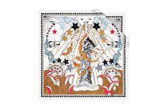White silk square 70 x 70 cm - Dior