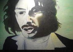 Julian Barrat in Nathan Barley Portrait by oiloncanvas on Etsy