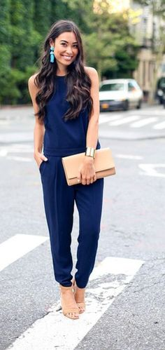 Classy jumpsuit  #jumpsuit #jewels #highheels