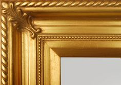 """Beautiful Picture Frame! Perfect For Artwork, Photographs, Canvas Paintings, Oil Paintings, Watercolor Paintings, Acrylic Paintings, Portraits, Wedding Pictures, Diplomas, Family Photographs & More. Classic Gold Beaded 3.25"""" Wide Picture Frame."""