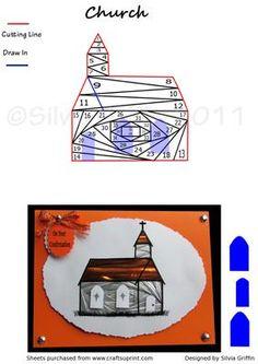 Iris Fold Church Pattern