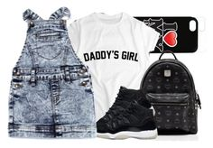 """""""I ❤️ Daddy"""" by prettygurl21 ❤ liked on Polyvore featuring MCM and Cotton Candy"""