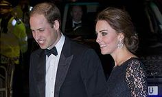 Duke and Duchess of Cambridge in high spirits at Royal Variety Performance