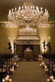 Aisle decor for my night wedding.