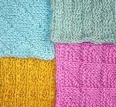 Tunisian knit & purl