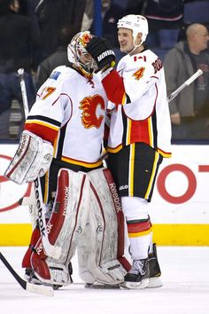 The Official Site of the Calgary Flames Ice Hockey Teams, Fire And Ice, Calgary, Nhl, Captain America, Superhero, Sports, Jackets, Blue