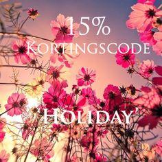 Ontvang alleen vandaag 15% korting op alle items van www.webstash.nl!
