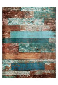 Wallpaper Backgrounds Vintage - Art Print: Blue Hues Wood by Jace Grey : Wood Wallpaper, Textured Wallpaper, Wallpaper Backgrounds, Diy Pallet Wall, Diy Pallet Furniture, Pallet Walls, Pallet Beds, Pallet Art, Furniture Vintage