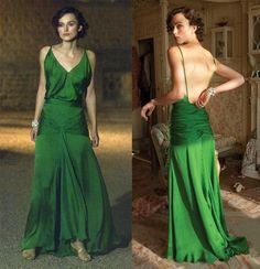 dress from Atonement movie