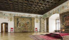 Zamki w Polsce: Zamek Królewski na Wawelu, Sala Poselska, Foto Anna Stankiewicz