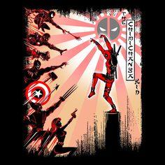 "Deadpool - Marvel Comics Deadpool ""Chimichanga Kid"" Shirt ..."
