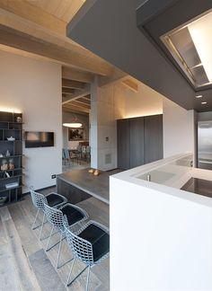 works Brando Interior Design in Cremona Casa Loft, Attic Apartment, Light My Fire, Paris Apartments, Interior Inspiration, Cool Designs, Sweet Home, New Homes, Concept