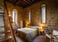 Converted 12th-Century Abbey on Airbnb