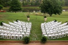 Ceremony Seating Found At Http Www Weddingbycolor Milestones