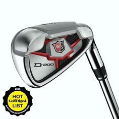 Wilson Staff D200 Iron Set with Steel Shafts