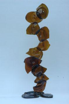 Deko-Objekte - Glas-Skulptur - ein Designerstück von RecyCLeR_GlaSS bei DaWanda